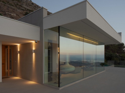 Design private villa in Sicily