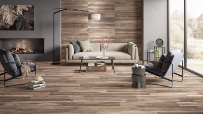 Mistic Enchant wood look made in Usa tiles