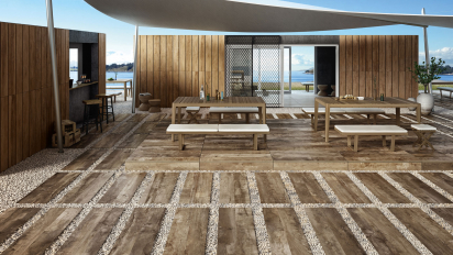 Outdoor Tiles Wood Look Ceramic2