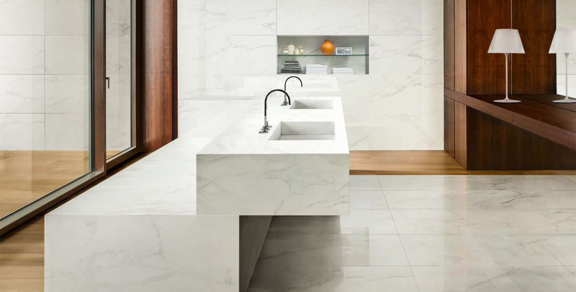Bathroom Sink marble look
