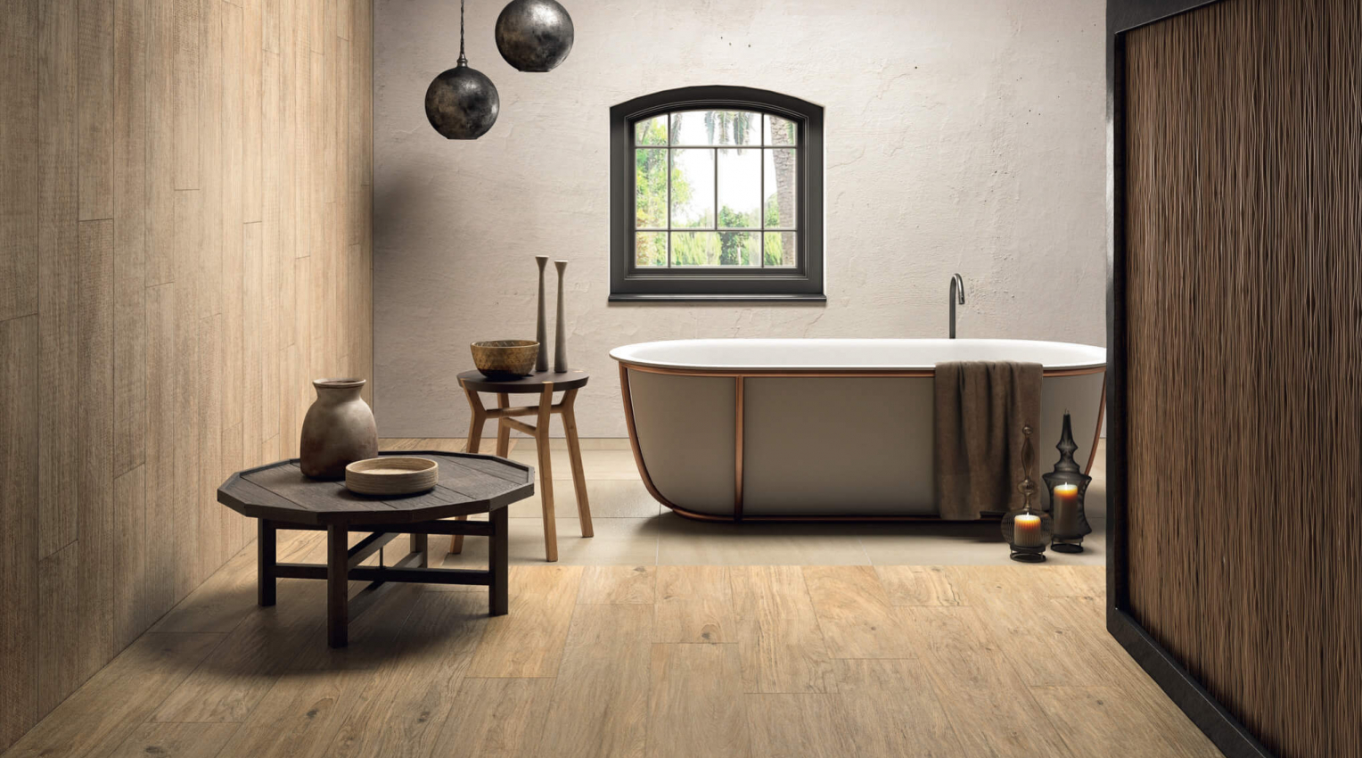 Bathroom Arthis Natural wood