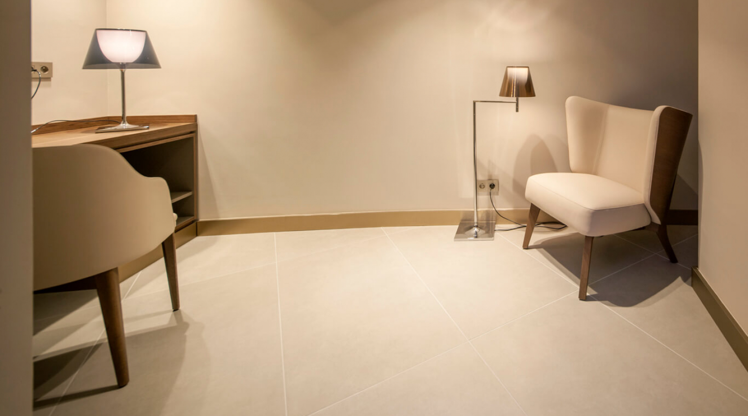 Cement Effect Porcelain Tiles Radisson Blu Hotel