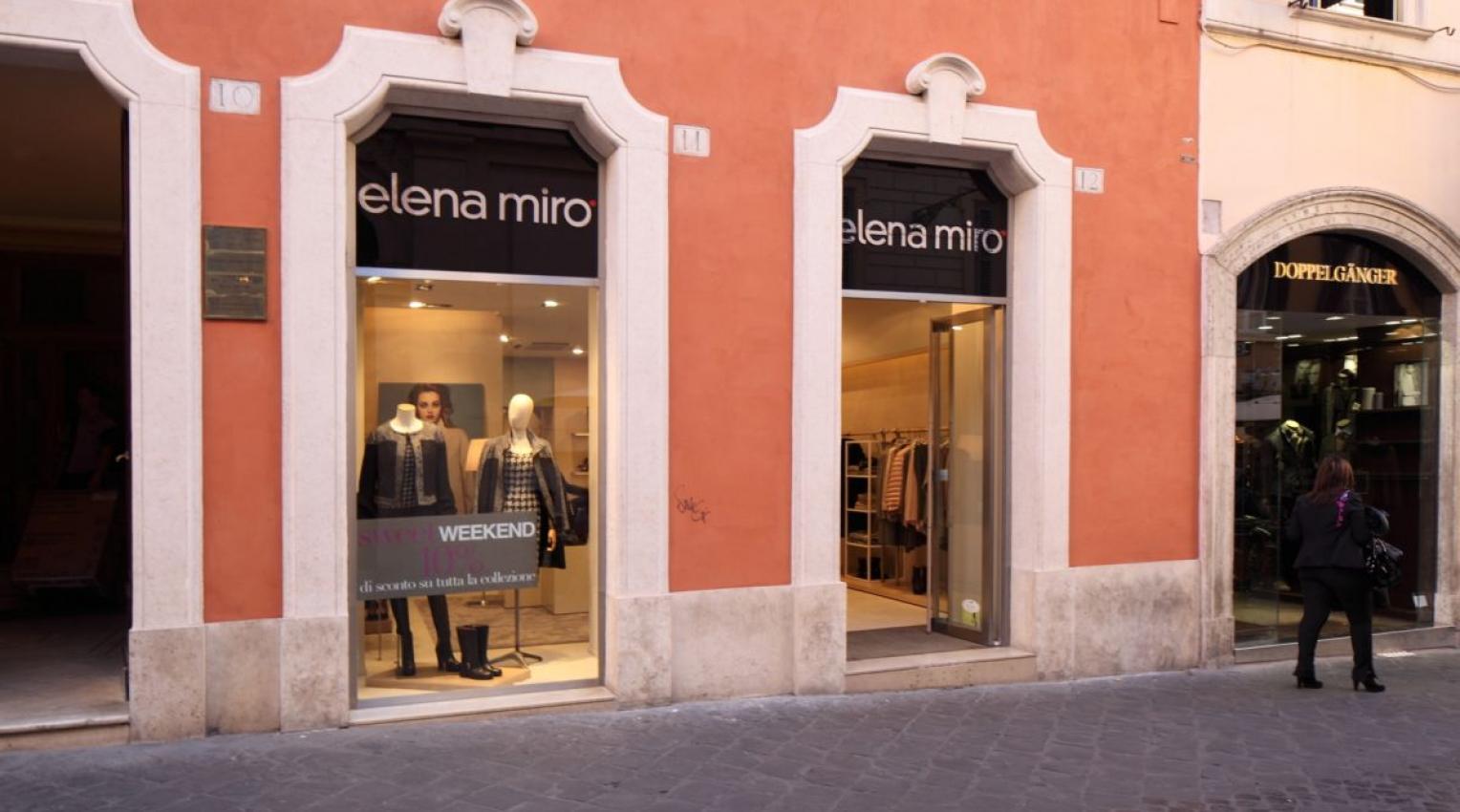 Elena Mirò - Negozio di Roma | Ceramiche Caesar