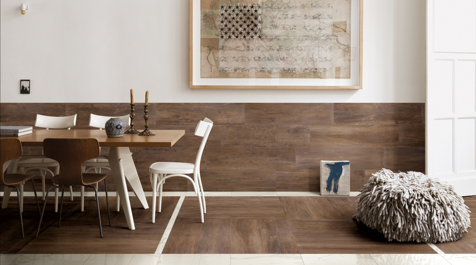 oak look ceramic porcelain tiles