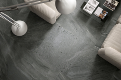Stone look resistant ceramic porcelain tiles
