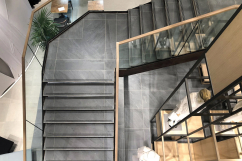 Tailor made porcelain stoneware stairs2