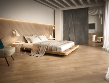 Bedroom Wood Effect Elm Ceramics Tiles