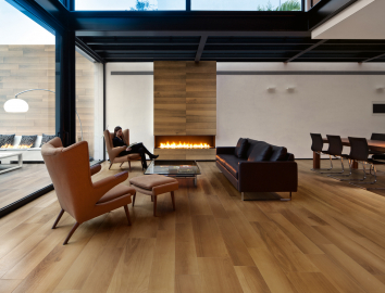 Living elegant wood effect